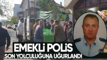Emekli Polis Arslanoğlu Son Yolculuğuna Uğurlandı