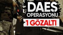 Hendek'te DAEŞ operasyonu: 1 gözaltı