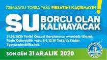 SASKİ'de su borçlarına yapılandırma fırsatı