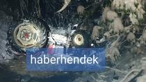 Hendek'te Traktör Devrildi 1 Kişi Hayatını kaybetti, 1Kişi Yaralandı