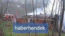 İki Katlı Bina Kullanılamaz Hale Geldi