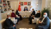 CHP'li Keleş, Ak Partili Tever'e Hayırlı Olsun Ziyareti Gerçekleştirdi