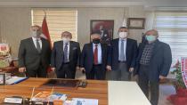 Başkan Babaoğlu'ndan ASKF'ye hayırlı olsun ziyareti.