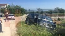 İki Aracın Çarpıştığı Kazada Maddi Hasar Meydana Geldi