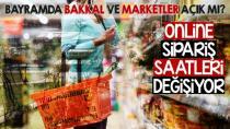 Bayramda Bakkal ve Marketler Açıkmı?