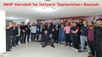 MHP Hendek'te İstişare Toplantıları Başladı