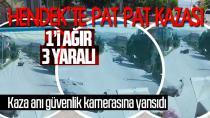 Hendek'te Pat Pat Kazası, 1'i Ağır 3 Yaralı