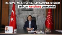 CHP, Sakarya'yı karış karış gezecek