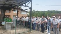 Emekli Polis Sever Dualarla uğurlandı