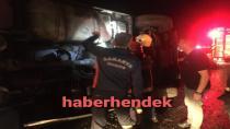 TEM'de Yağış nedeniyle Kaza 2 yaralı