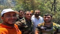 Orman Yangınları ile Mücadelede Hendek'ten Destek