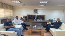 Babaoğlu ve Hendekspor Batman Emniyet Müdür Yardımcısını Ziyaret Etti