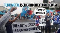 Türk Metal Sendikası Şube Başkanı Meriç; İşçilerimizin Yanındayız