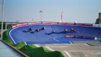 BMX Dünya Kupası 5. tur yarışları nefes kesti